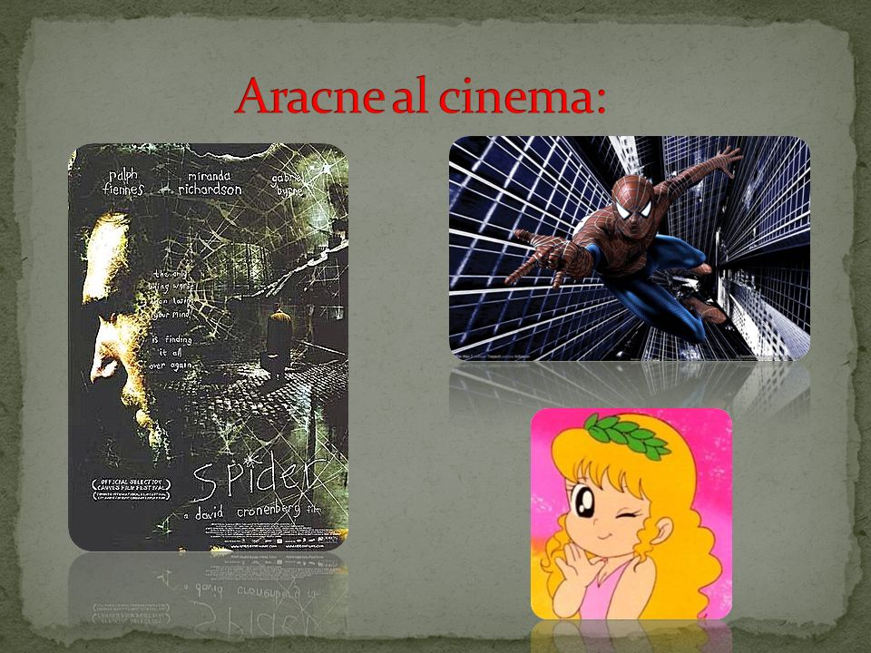 Aracne al cinema: