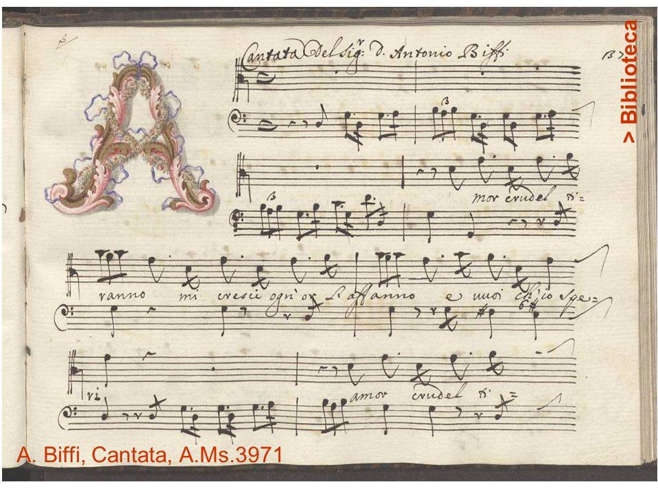 > Biblioteca A. Biffi, Cantata, A.Ms.3971