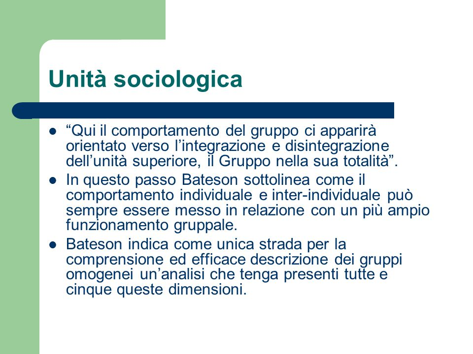 Unità sociologica
