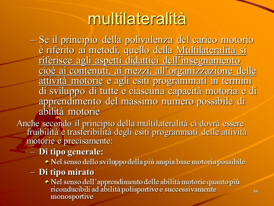 multilateralità