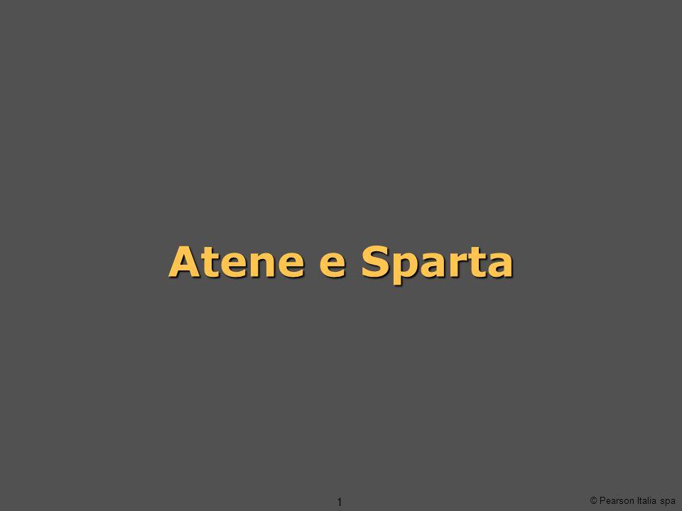 Atene e Sparta © Pearson Italia spa