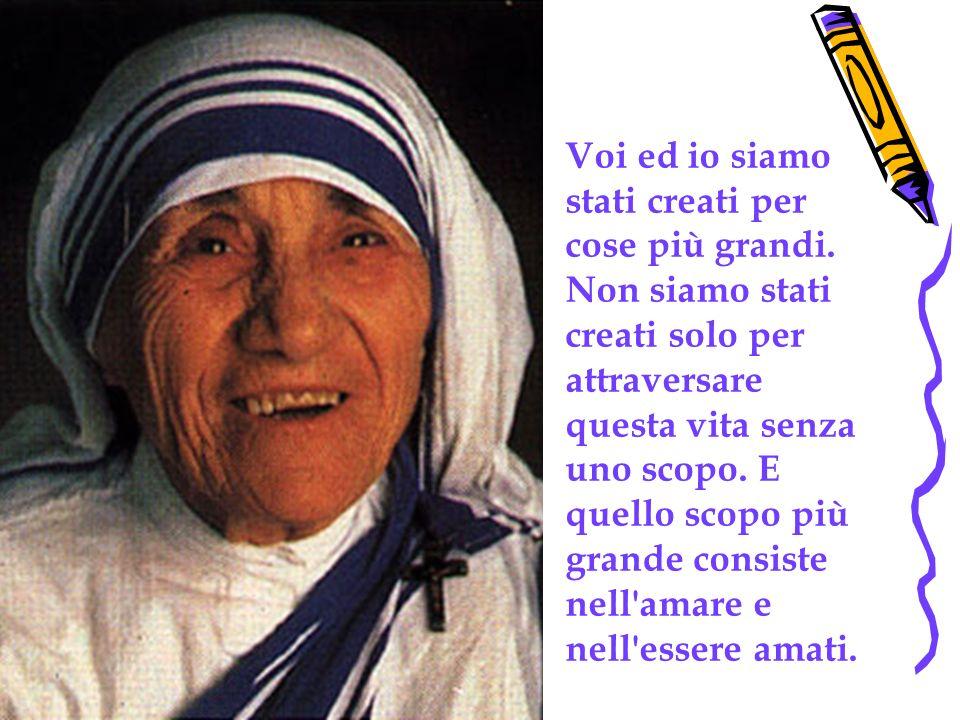 Eccezionale Pensieri (Madre Teresa di Calcutta) - ppt video online scaricare UK48