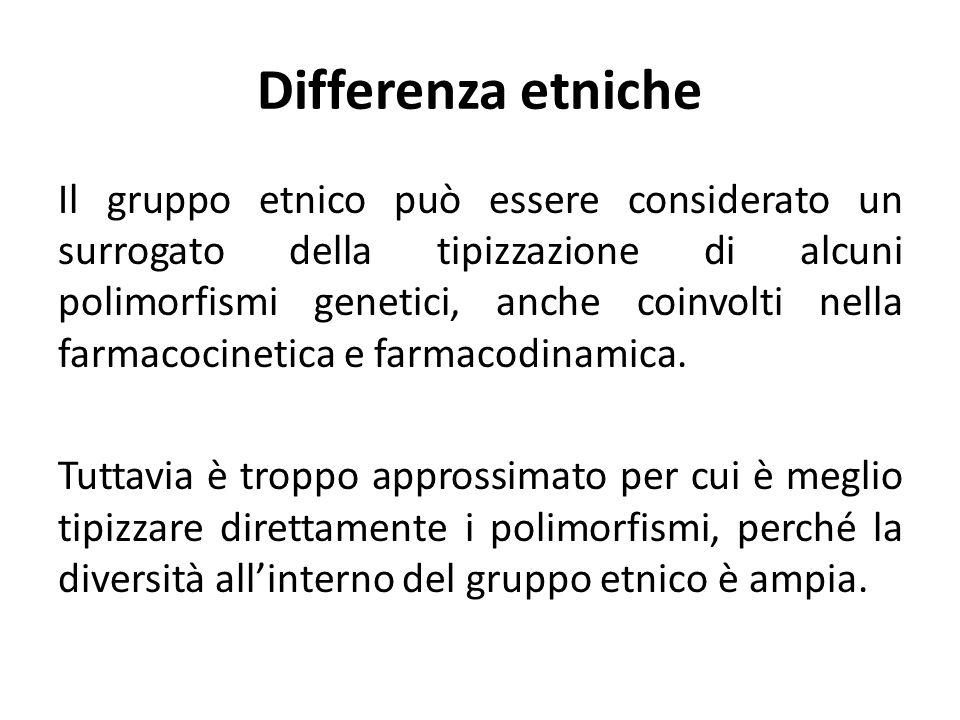 Differenza etniche