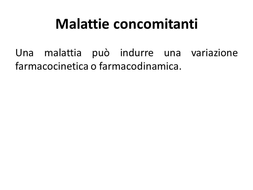 Malattie concomitanti