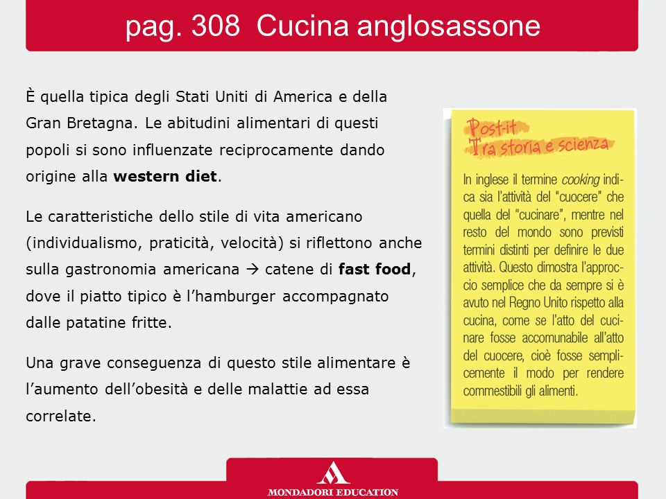 pag. 308 Cucina anglosassone