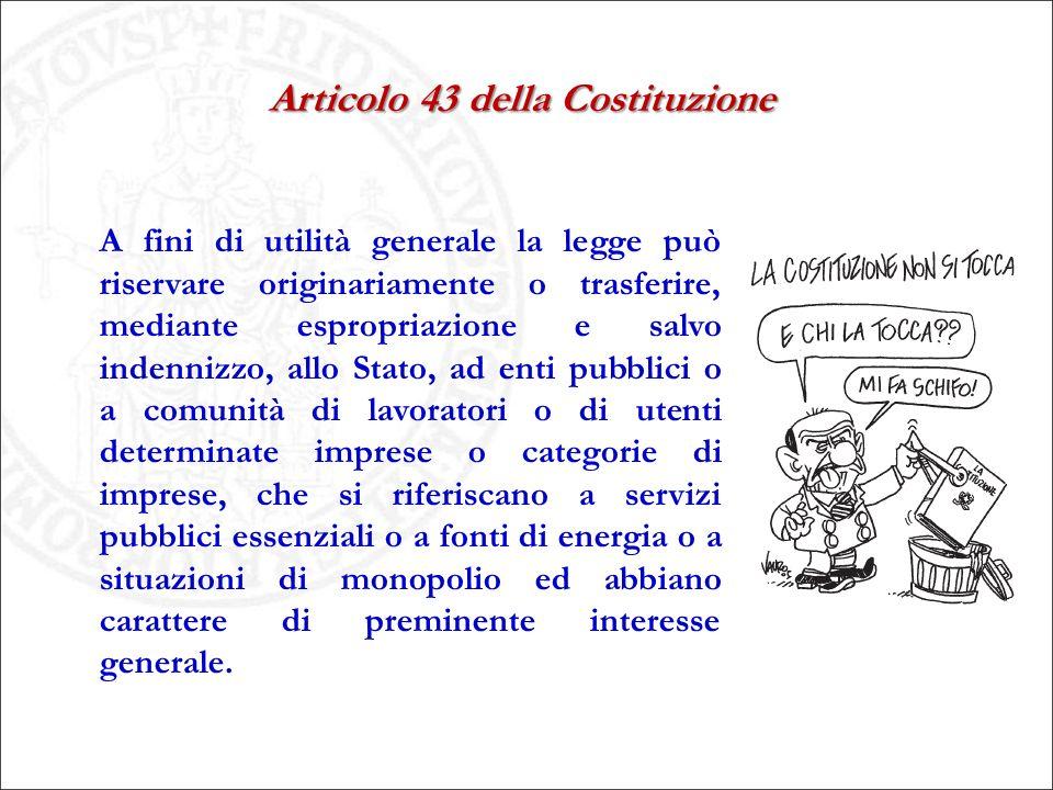 Articolo 43 della Costituzione