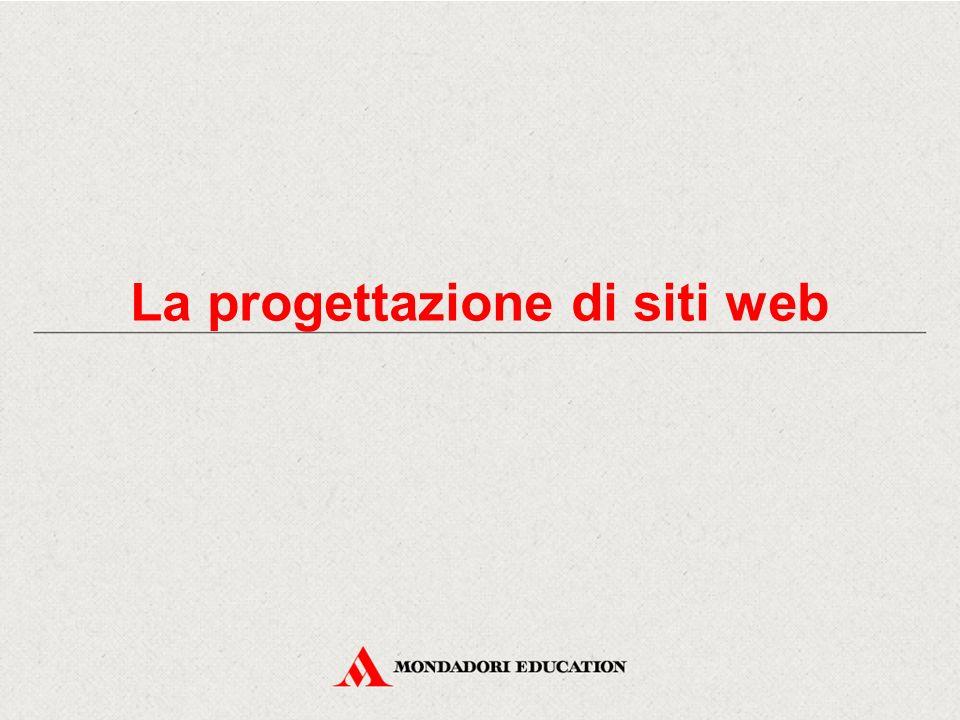 La progettazione di siti web