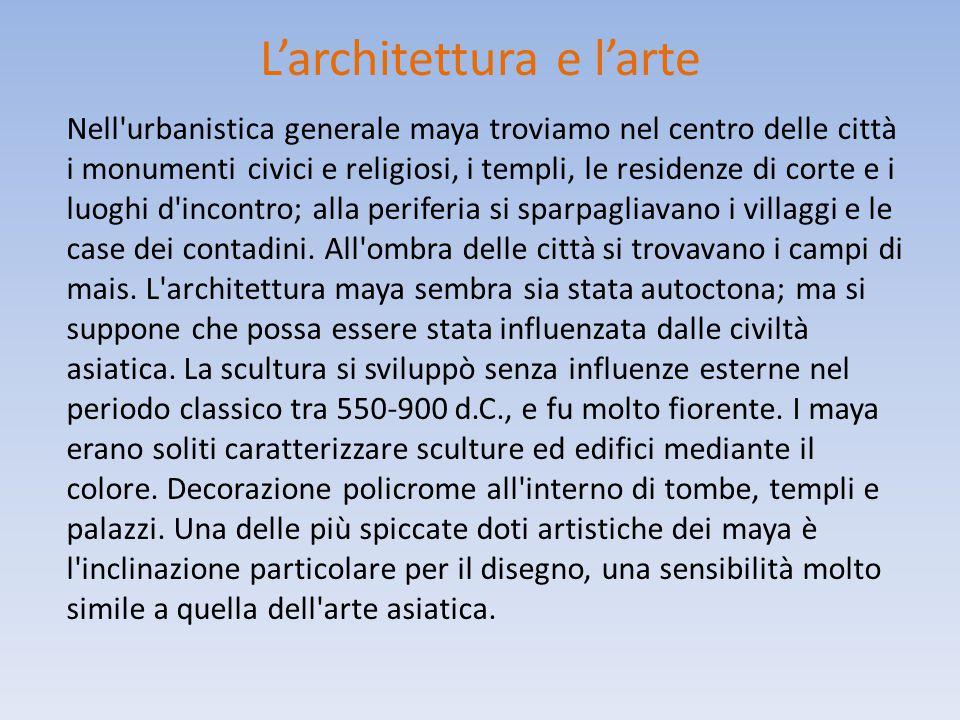 L'architettura e l'arte