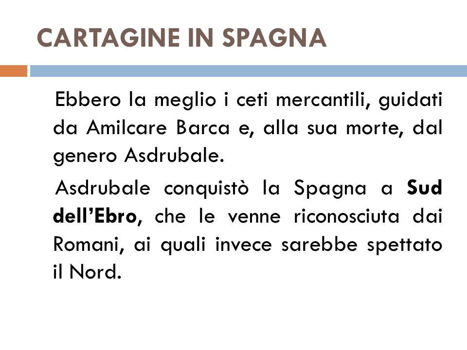 CARTAGINE IN SPAGNA