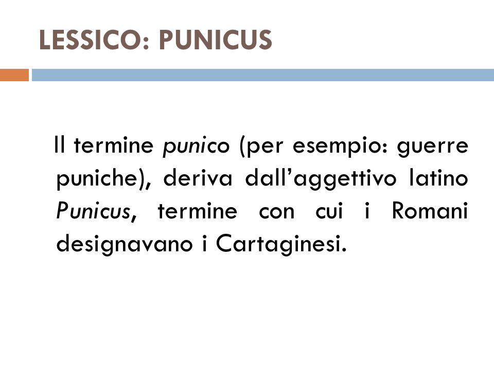 LESSICO: PUNICUS