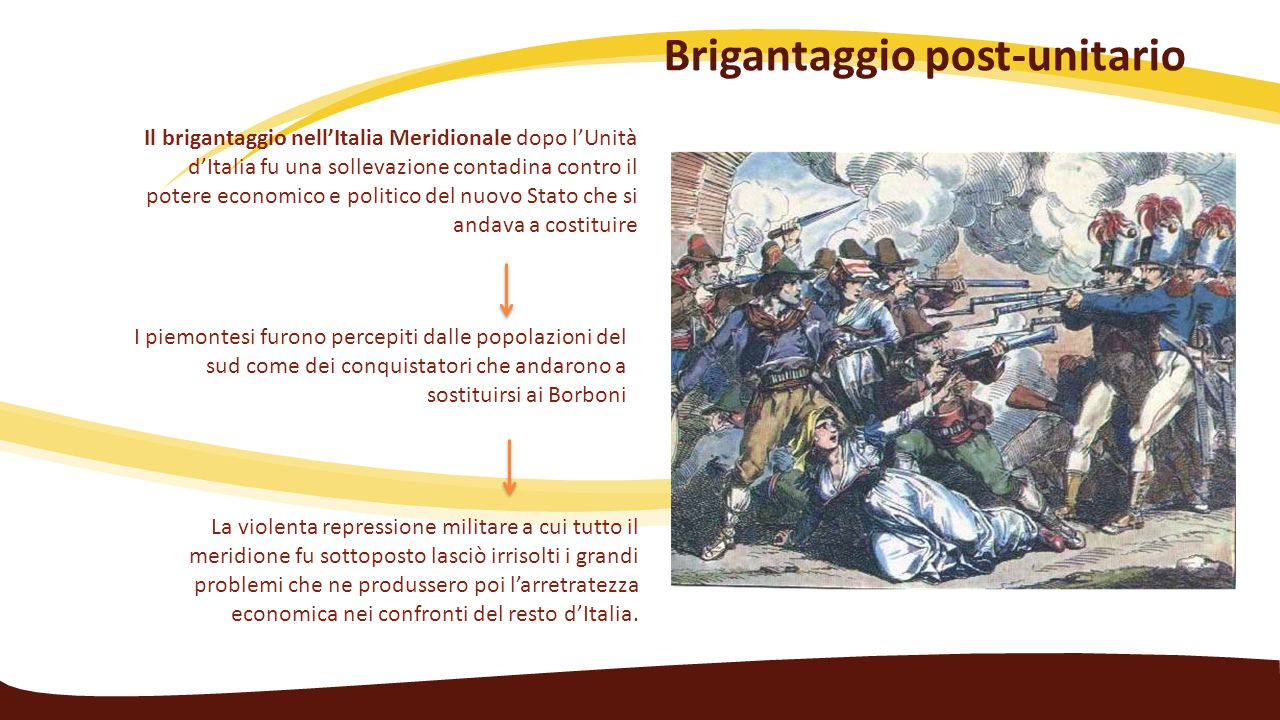 Brigantaggio post-unitario