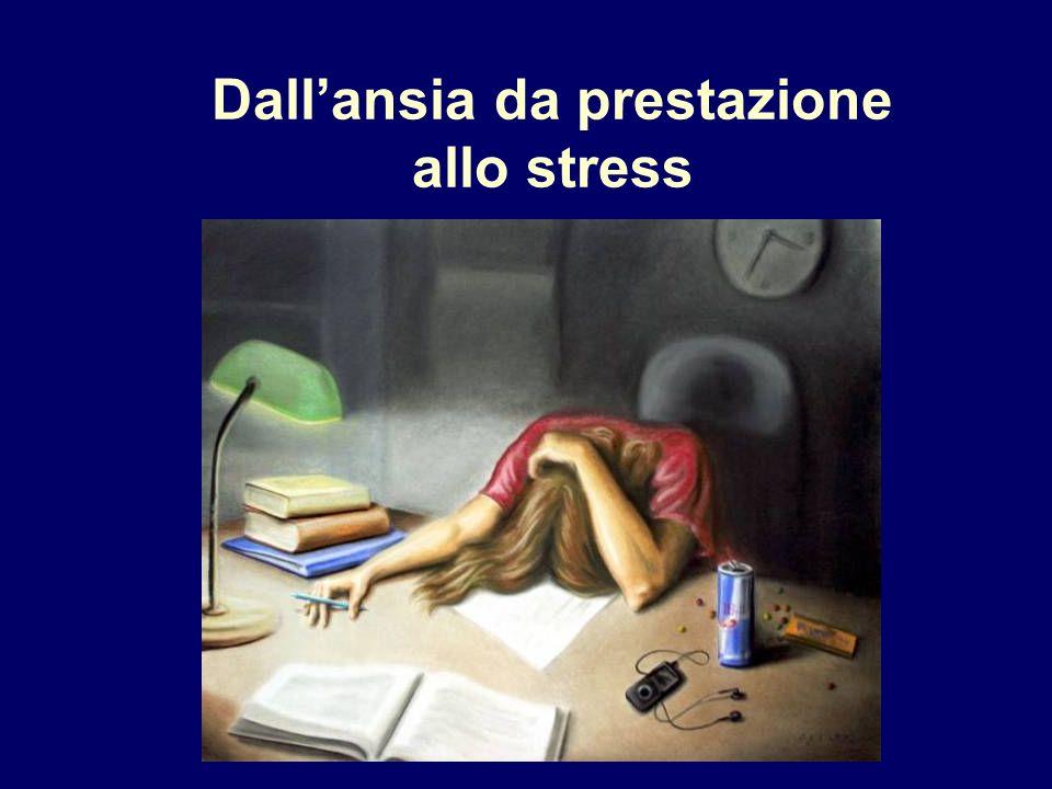 Dall'ansia da prestazione allo stress