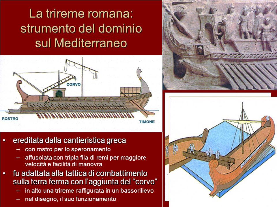 La trireme romana: strumento del dominio sul Mediterraneo