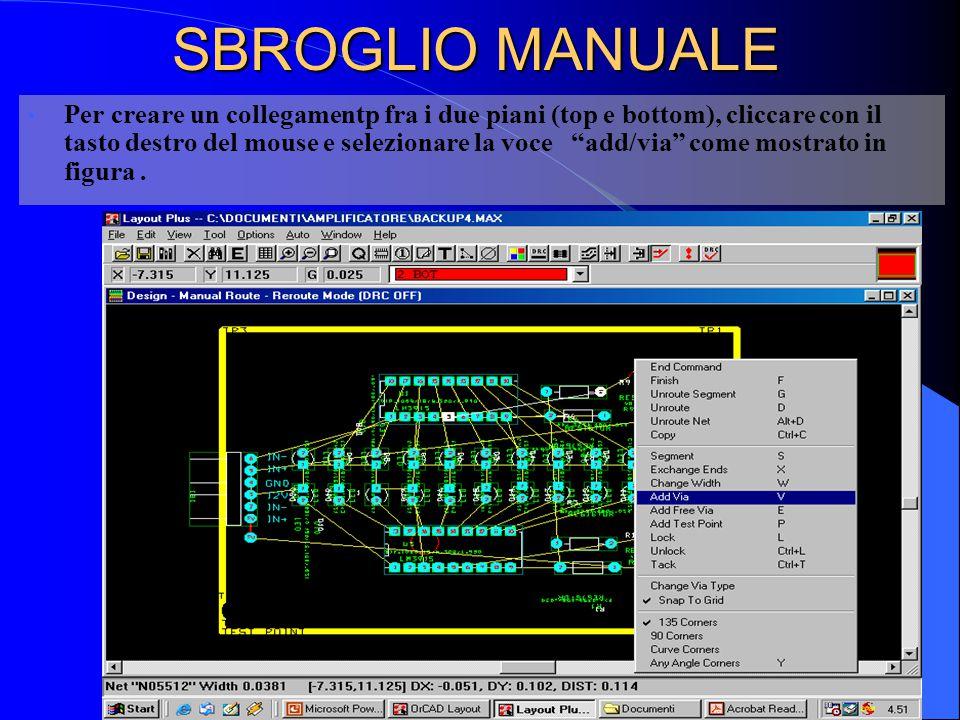 SBROGLIO MANUALE