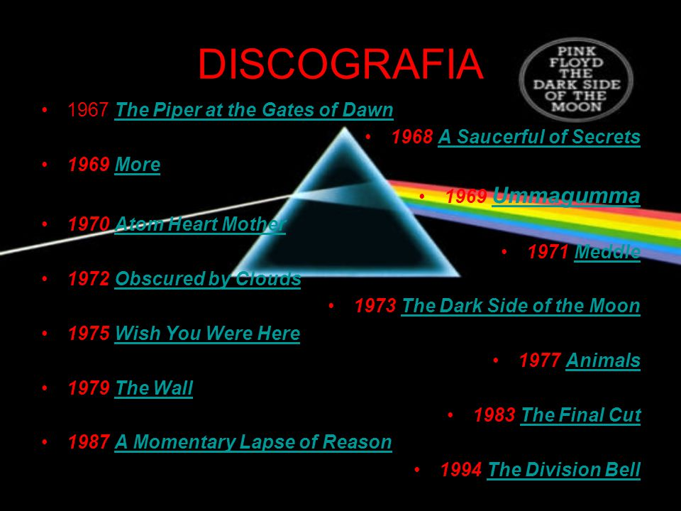 DISCOGRAFIA 1967 The Piper at the Gates of Dawn