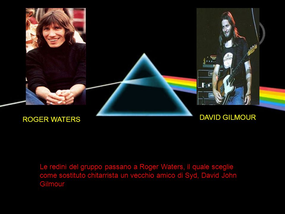 DAVID GILMOUR ROGER WATERS.