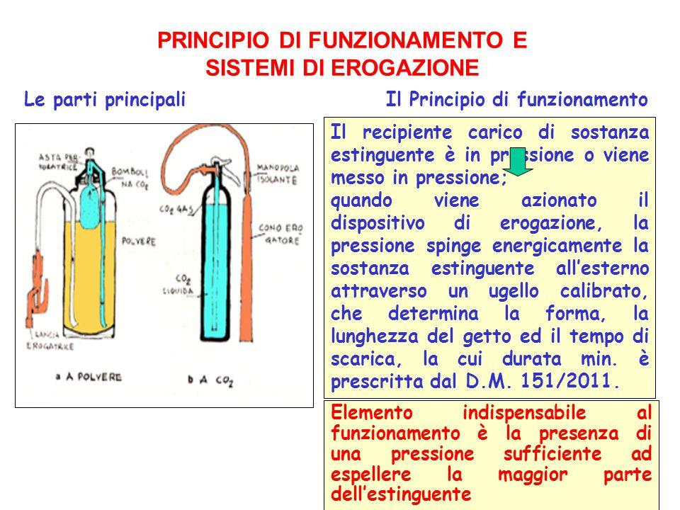 PRINCIPIO DI FUNZIONAMENTO E SISTEMI DI EROGAZIONE