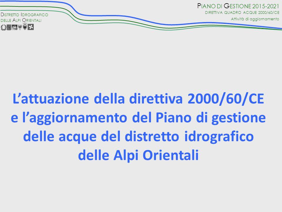 L'attuazione della direttiva 2000/60/CE