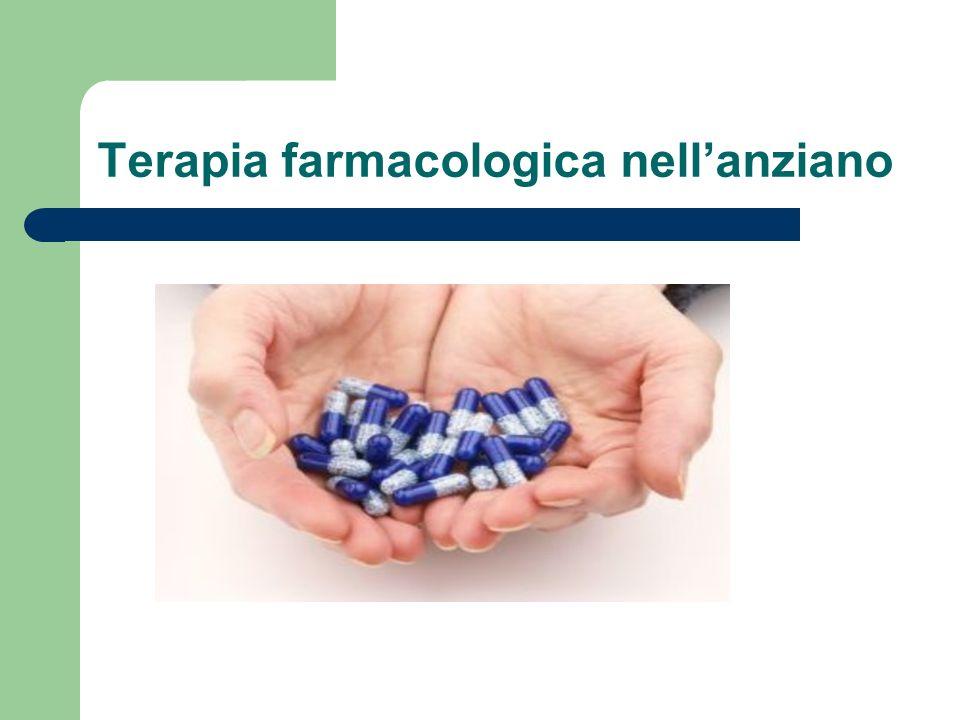 Terapia farmacologica nell'anziano