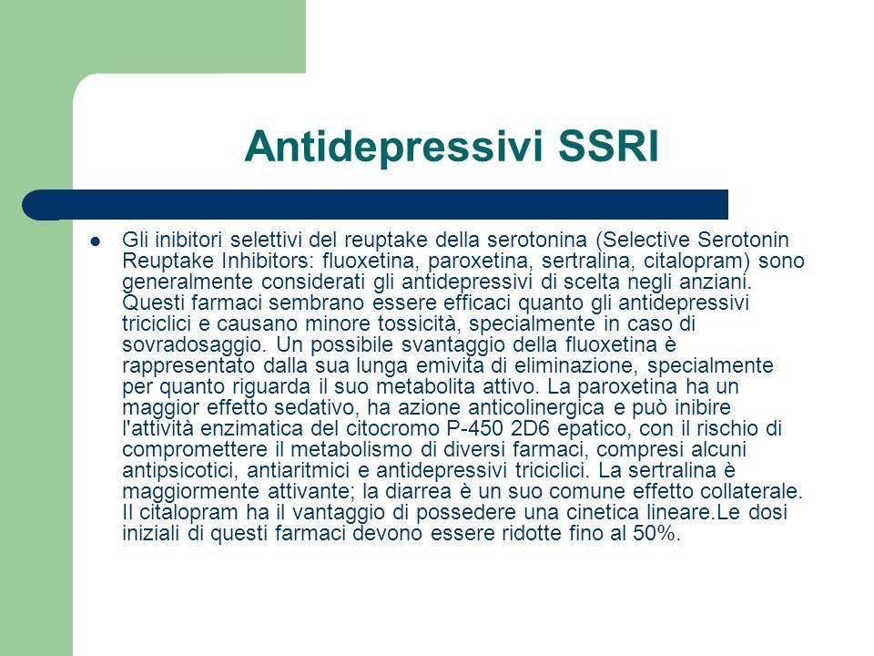 Antidepressivi SSRI