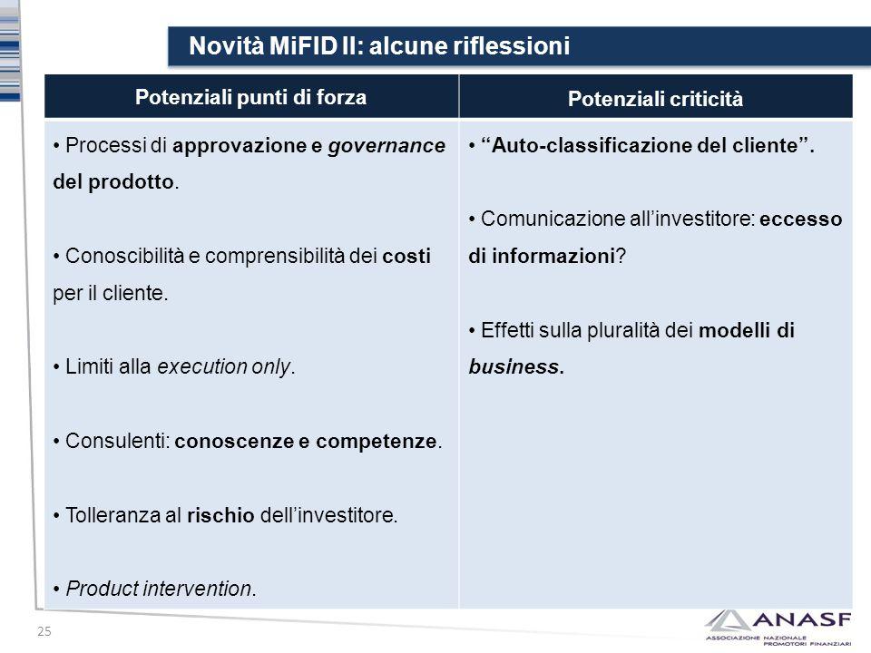 Novità MiFID II: alcune riflessioni