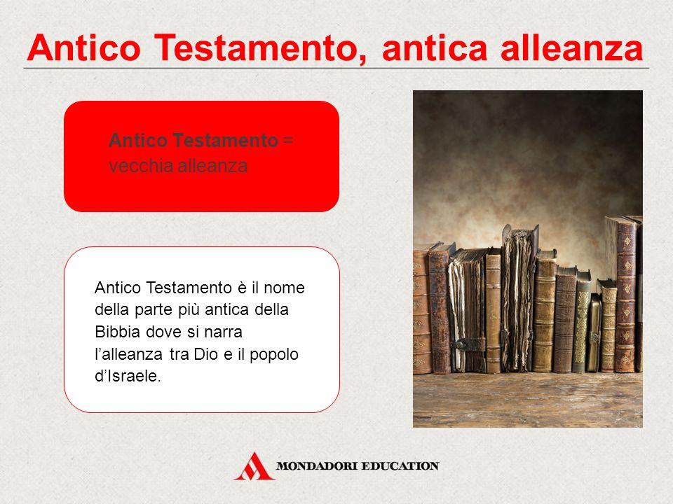 Antico Testamento, antica alleanza