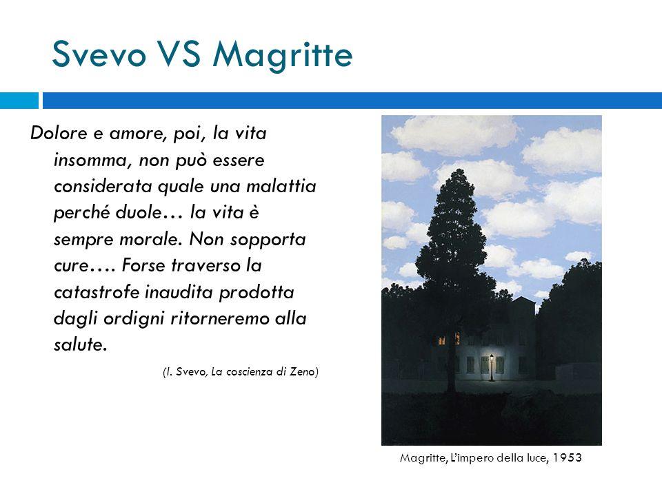 Svevo VS Magritte