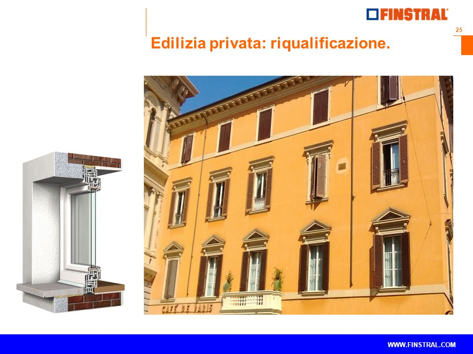 Edilizia privata: riqualificazione.