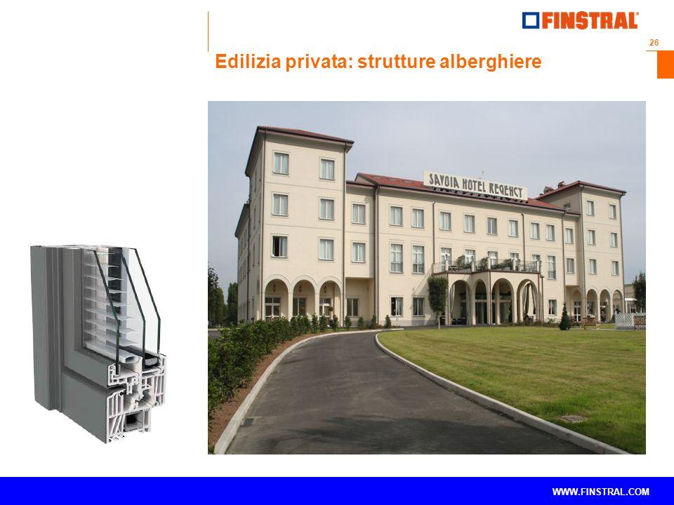 Edilizia privata: strutture alberghiere