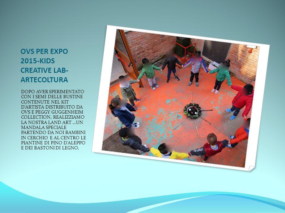 OVS PER EXPO 2015-KIDS CREATIVE LAB-ARTECOLTURA