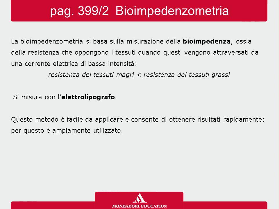 pag. 399/2 Bioimpedenzometria