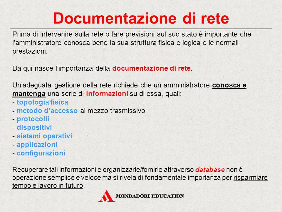 Documentazione di rete