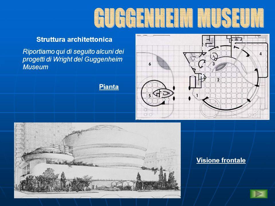 GUGGENHEIM MUSEUM Struttura architettonica