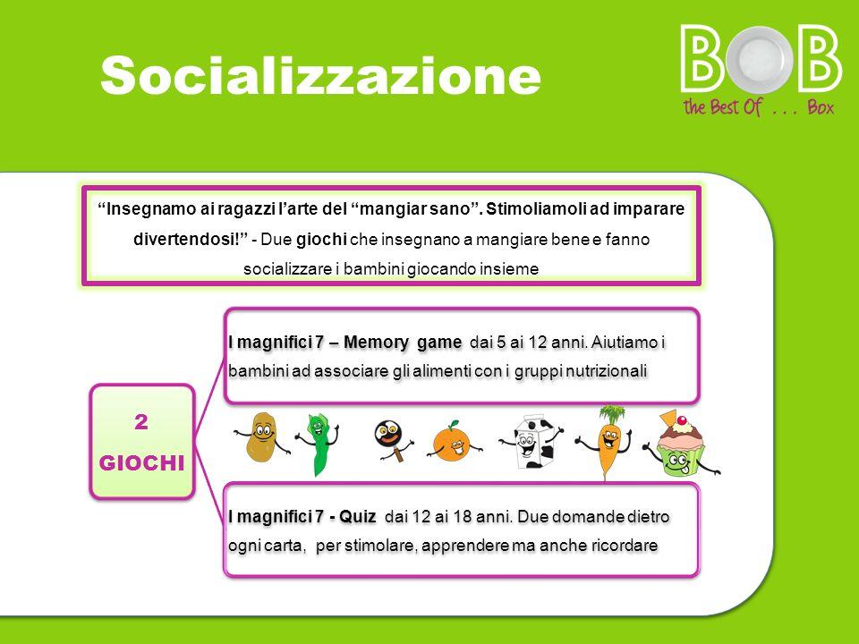 Socializzazione 2 GIOCHI