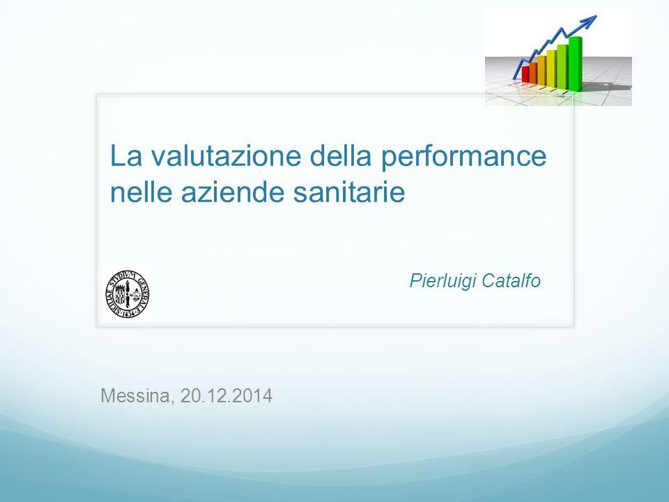 La valutazione della performance nelle aziende sanitarie