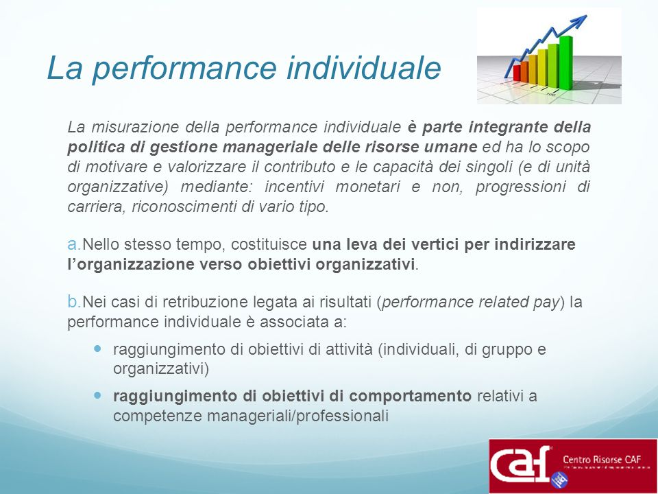 La performance individuale