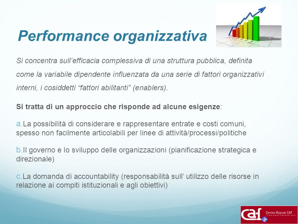 Performance organizzativa