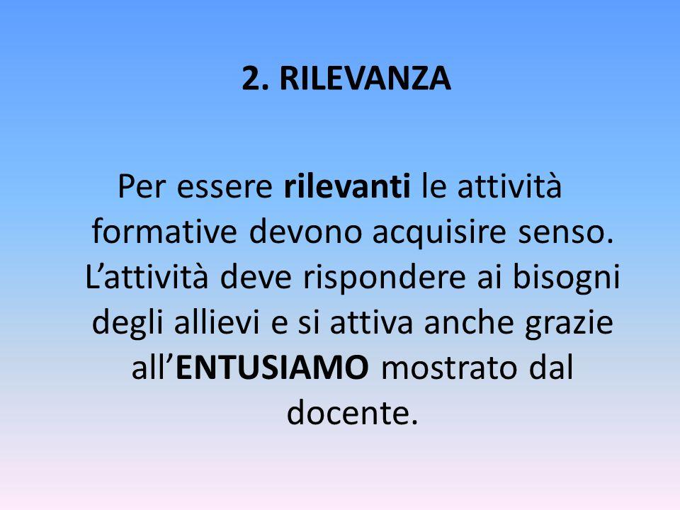 2. RILEVANZA