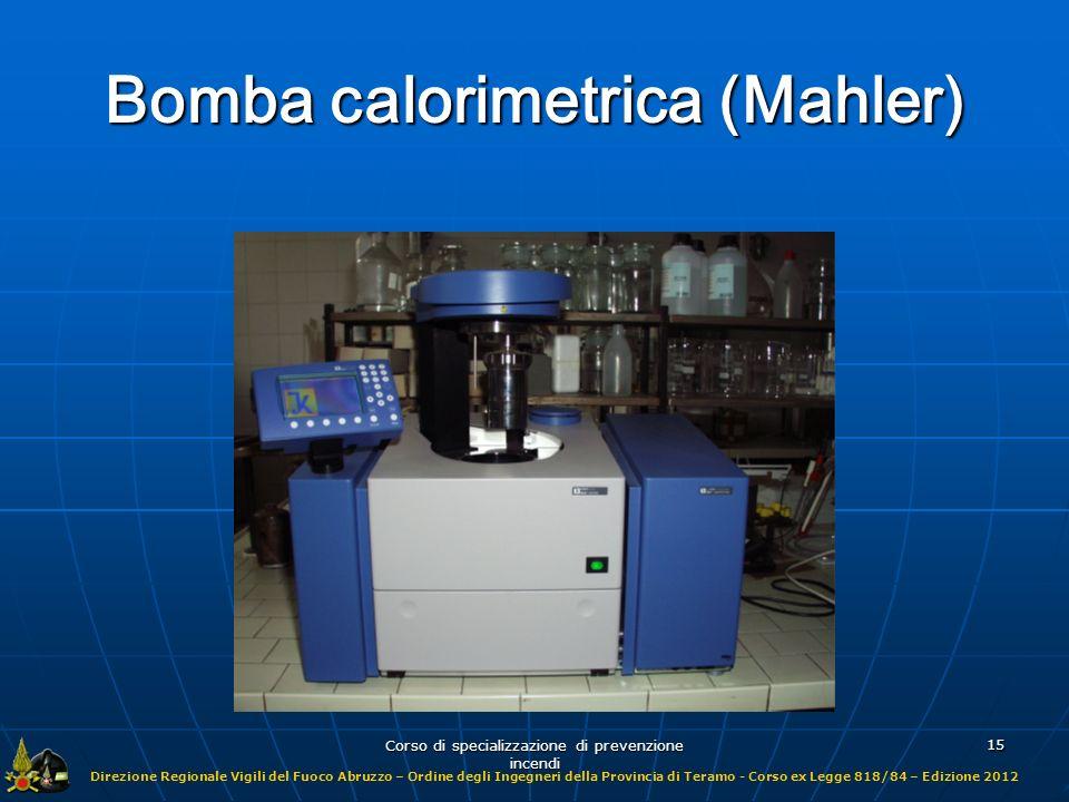 Bomba calorimetrica (Mahler)