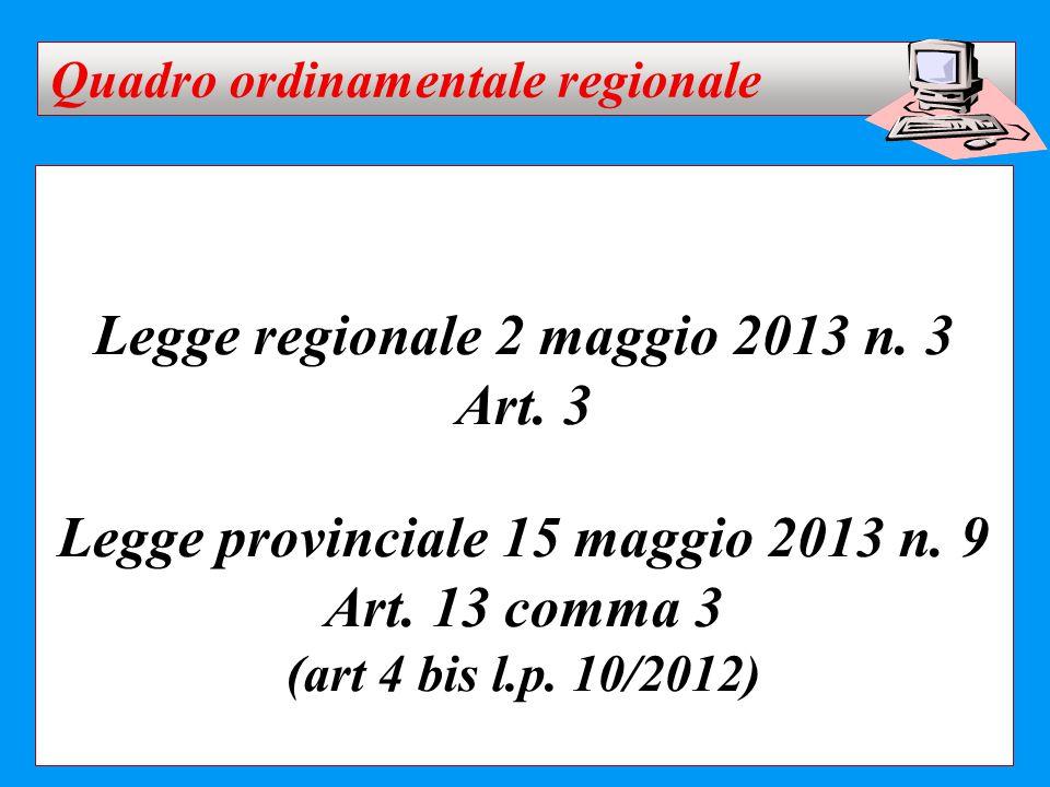 Legge regionale 2 maggio 2013 n. 3