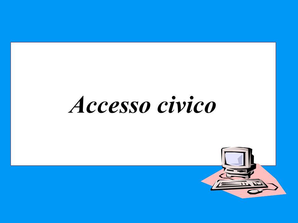 Accesso civico 35 35 35