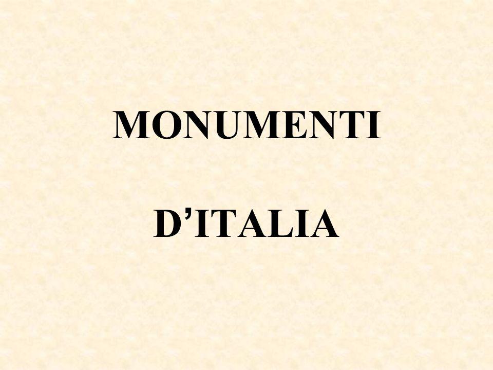 MONUMENTI D'ITALIA