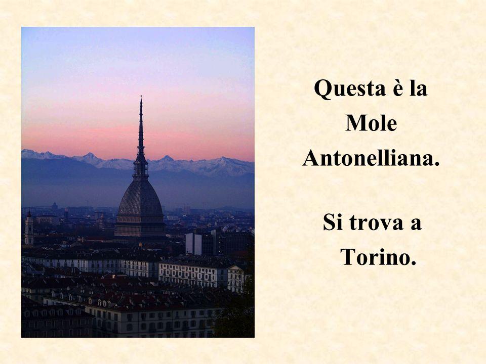 Questa è la Mole Antonelliana.