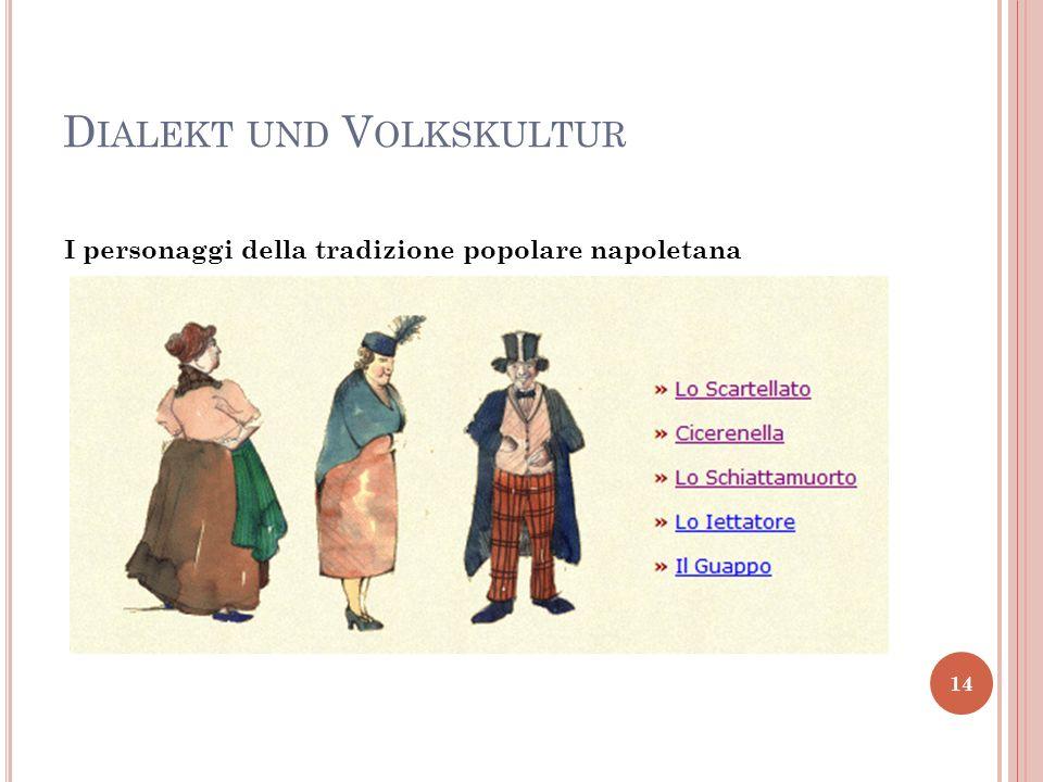 Dialekt und Volkskultur