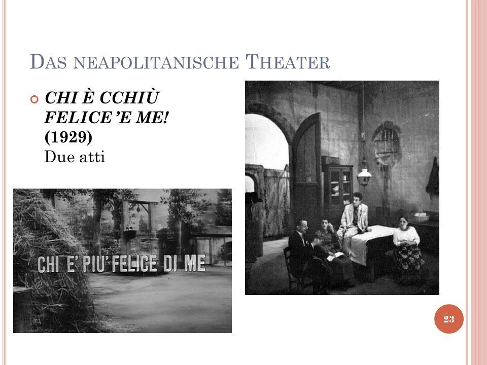 Das neapolitanische Theater