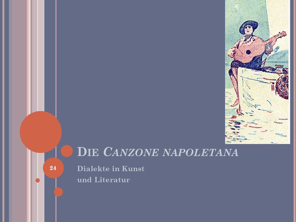 Die Canzone napoletana