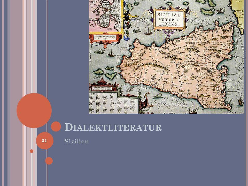 Dialektliteratur Sizilien