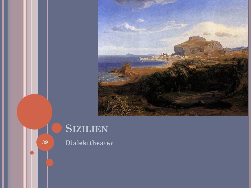 Sizilien Dialekttheater