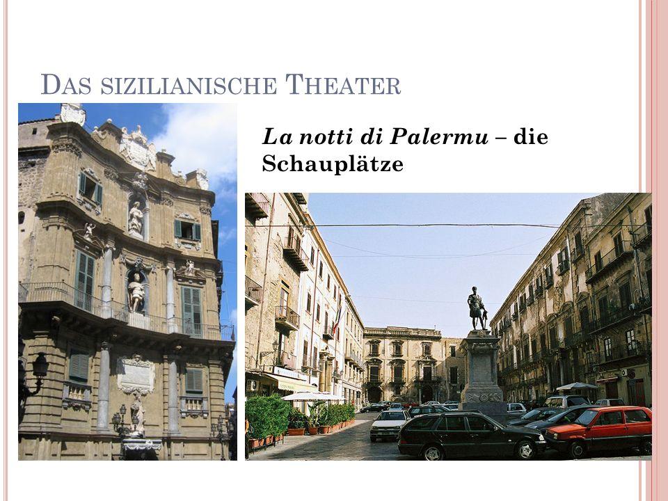 Das sizilianische Theater