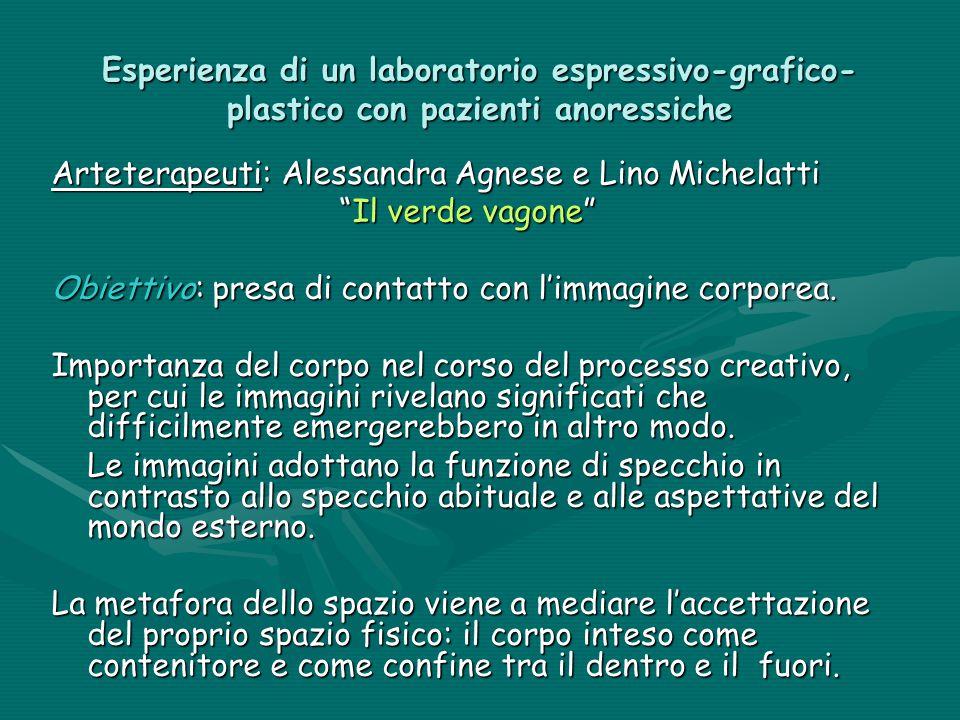 Esperienza di un laboratorio espressivo-grafico-plastico con pazienti anoressiche